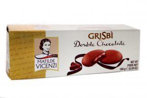 Jemné pečivo s dvojnásobnou čoko náplňou Grisbì