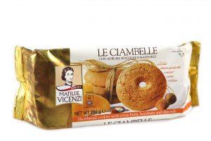 Sušienky s citrusovými plodmi a orieškami Ciambelle