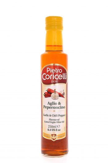 Aromatizovaný olivový olej cesnak&čili papričky
