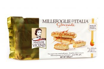 Krehké pečivo Millefoglie d'Italia Glassate