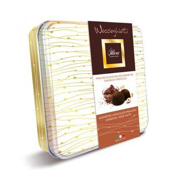 Pralinky čokoládové plnené krémom MIX 2 príchutí