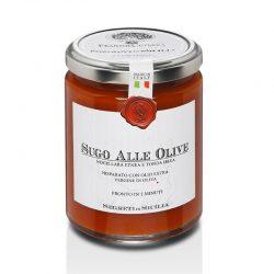 Omáčka paradajkovo - olivová