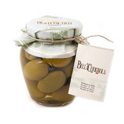olivy zelené, veľké, mäsité