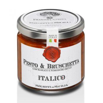 Pesto - zmes na brusketu s bazalkou