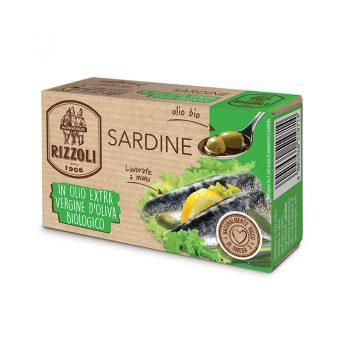 Sardinky v BIO olivovom oleji