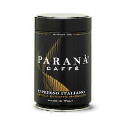 Káva Paranà mletá je krémová, zamatová, pravá talianska kávová zmes