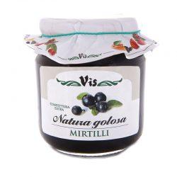 Džem čučoriedkový tradičný Natura golosa je vynikajúci, tradičný a prírodný