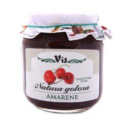 Džem višňový tradičný Natura Golosa má plnú a intenzívnu chuť a vôňu višní