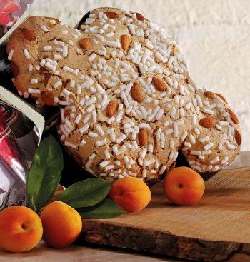 Taliansky koláč s marhuľami Colomba Albicocca