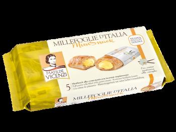 Koláčiky Millefoglie plnené smotanovým krémom 5ks Mini snack