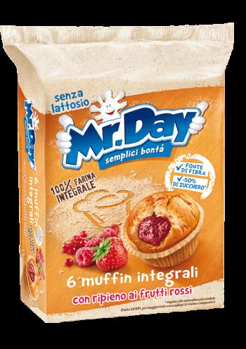 Koláčik bez cukru s ovocnou náplňou Muffin